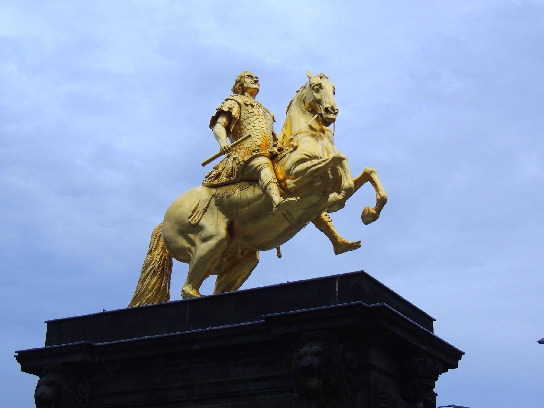 Golden Horseman, Dresden