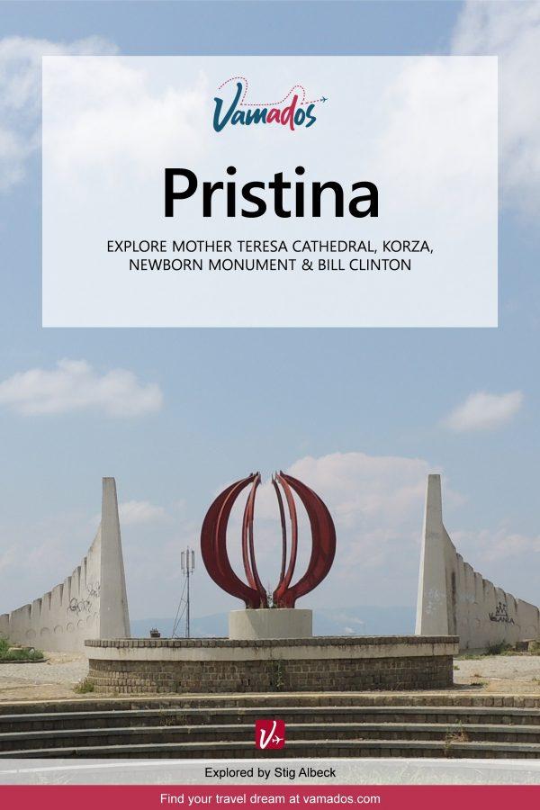 Pristina Travel Guide - vamados.com - 2nd edition